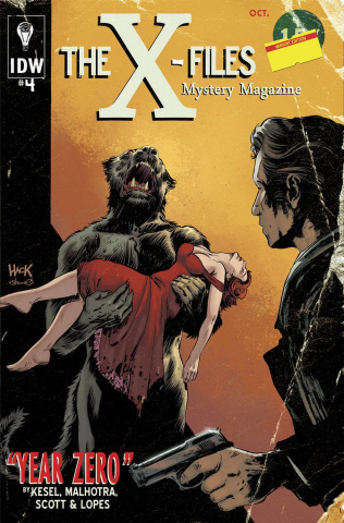 The X-Files: Year Zero #4 (Subscription Cover)