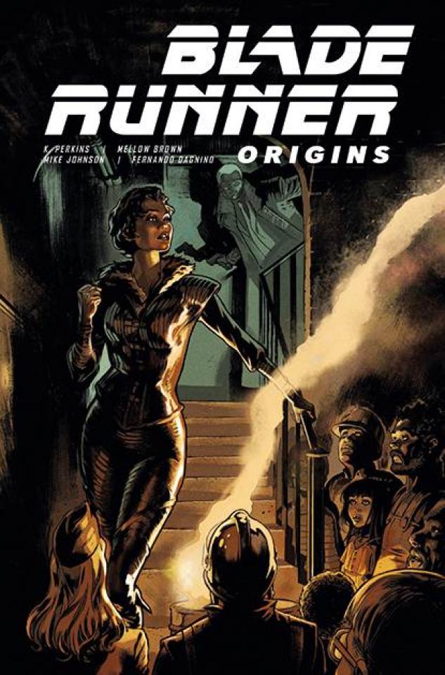 Blade Runner: Origins #6 (Dagnino Cover)