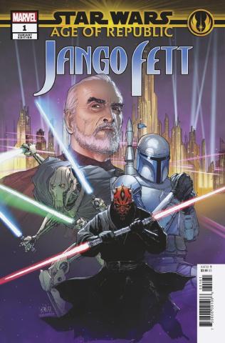 Star Wars: Age of Republic - Jango Fett #1 (Yu Villains Cover)