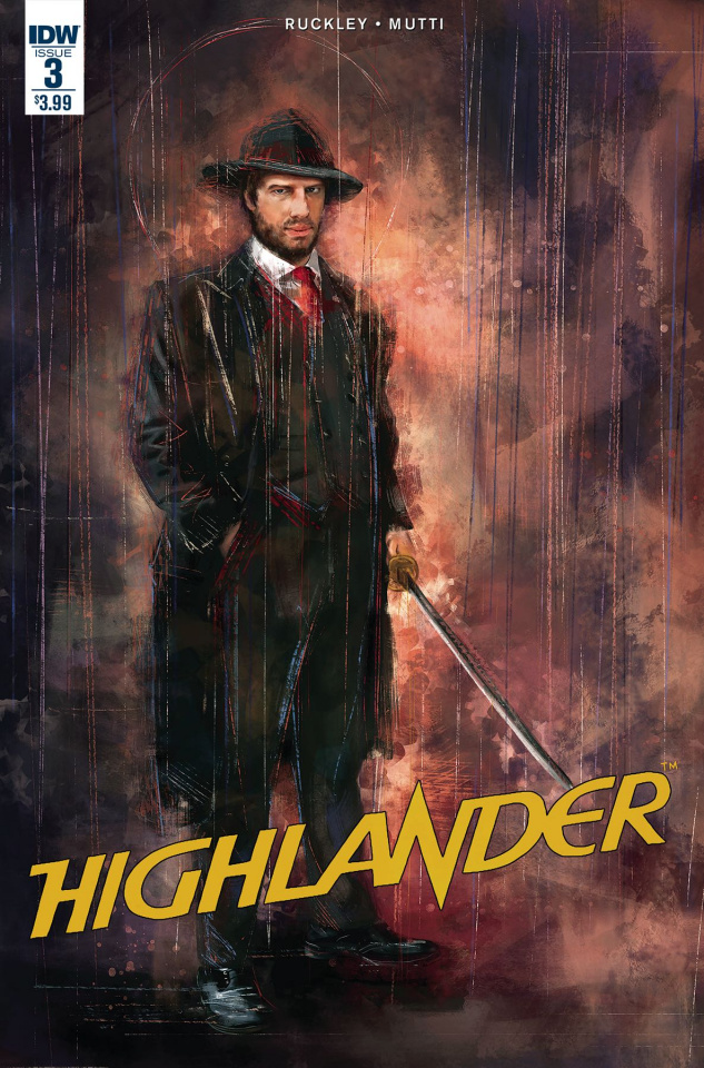 Highlander: The American Dream #3 (Subscription Cover)