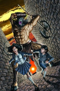 Grimm Fairy Tales: The Library #1 (Cacau Cover)