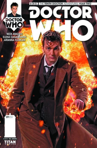 Doctor Who: New Adventures with the Tenth Doctor, Year Two #9 (Photo Cover)