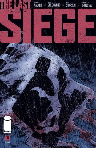 The Last Siege #8 (Greenwood Cover)