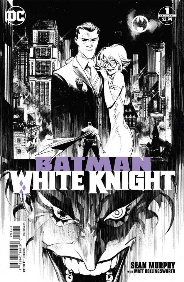 Batman: White Knight #1 (3rd Printing)