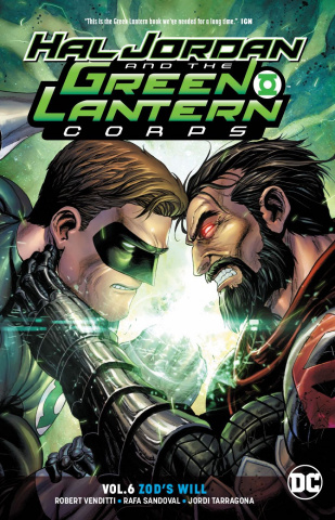 Hal Jordan and The Green Lantern Corps Vol. 6: Zod's Will