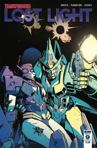 The Transformers: Lost Light #9 (Roche Cover)