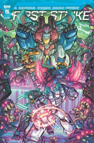 First Strike #5 (Duenas Cover)