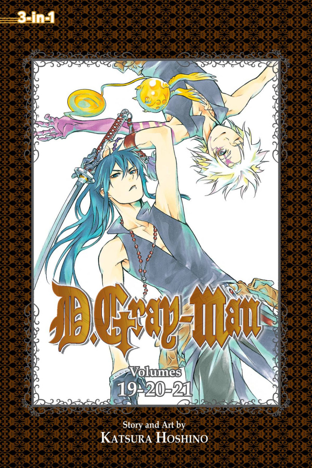 D.Gray-Man Vols. 19-21