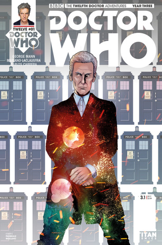 Doctor Who: New Adventures with the Twelfth Doctor, Year Three #1 (Qualano Cover)
