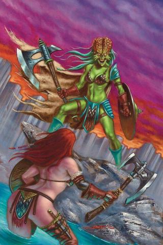 Mars Attacks / Red Sonja #5 (30 Copy Strati Virgin Cover)
