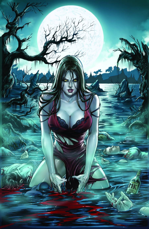Grimm Fairy Tales: Werewolves - The Hunger #1 (Krome Cover)