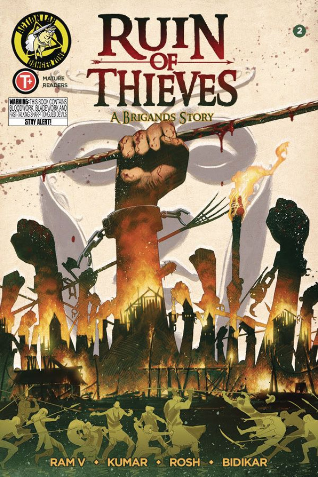 Ruin of Thieves: A Brigand's Story #2 (Kumar Cover)