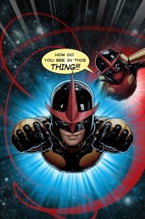 Nova #22 (Deadpool Cover)