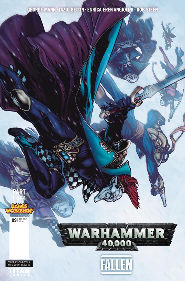 Warhammer 40,000: Fallen #1 (Bettin Cover)