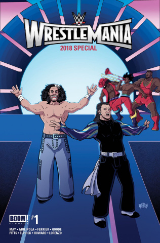 WWE WrestleMania 2018 Special #1 (Robson Cover)