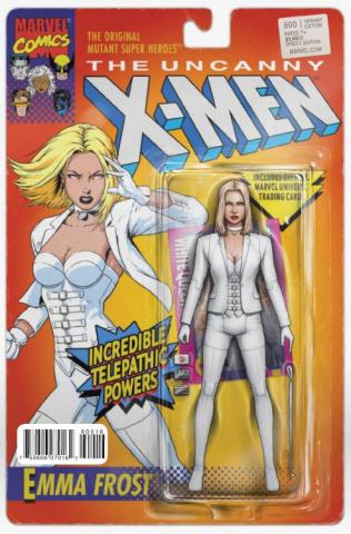 Uncanny X-Men #600 (Christopher Action Figure Cover)