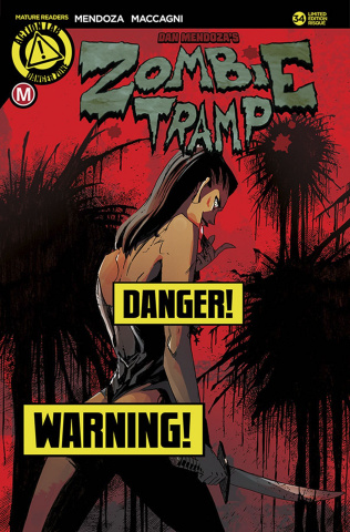 Zombie Tramp #34 (Maccagni Risque Cover)