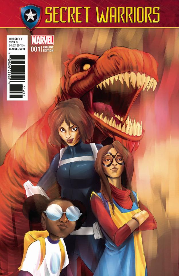 Secret Warriors #1 (Rodriguez Cover)