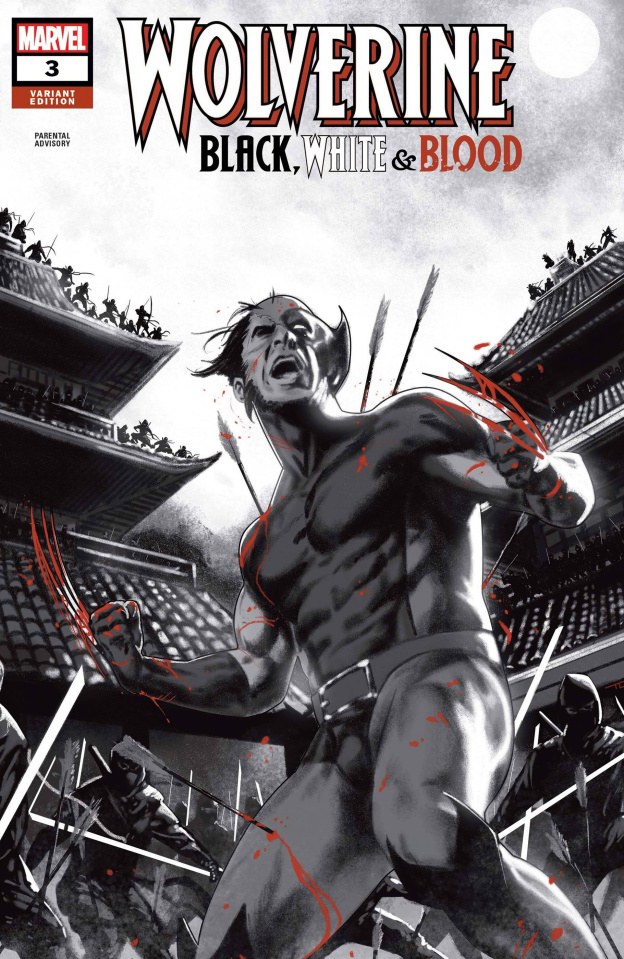 Wolverine: Black, White & Blood #3 (Clarke Cover)