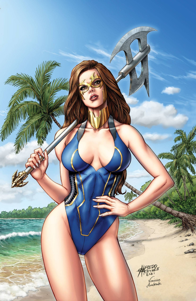 Grimm Fairy Tales Presents Swimsuit Edition 2021 (Reyes Cover)