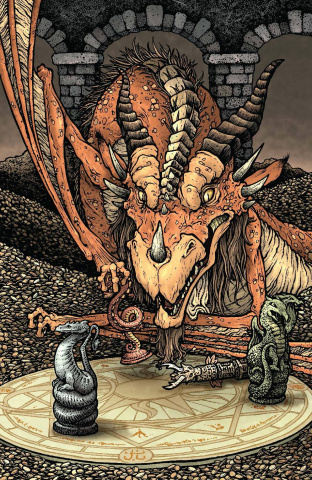 The Storyteller: Dragons #1 (25 Copy Petersen Cover)