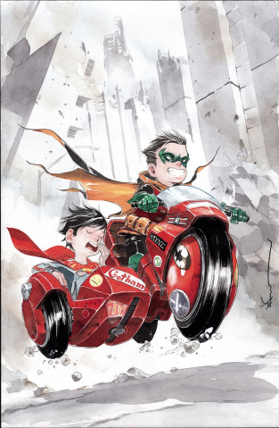 Super Sons #10 (Variant Cover)