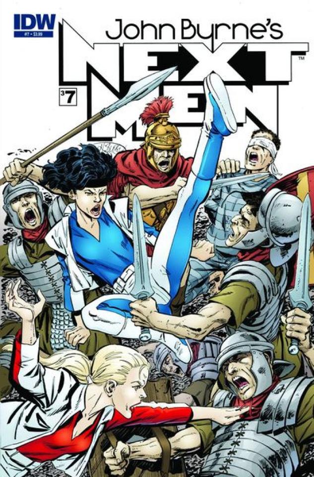 John Byrne's Next Men #7