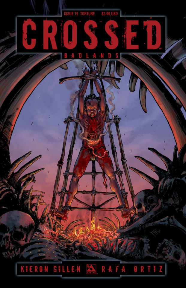 Crossed: Badlands #79 (Torture Cover)