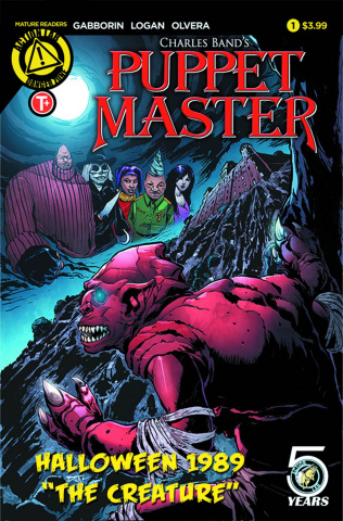 Puppet Master Halloween 1989 Special (Logan Cover)