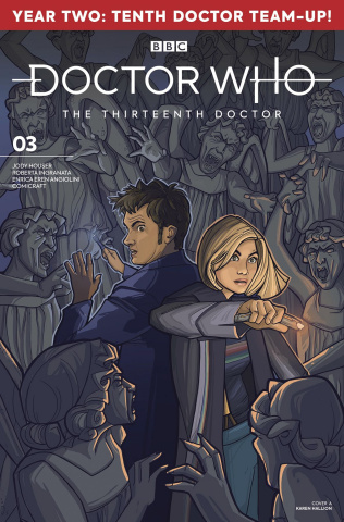 Doctor Who: The Thirteenth Doctor, Season Two #3 (Hallion Cover)