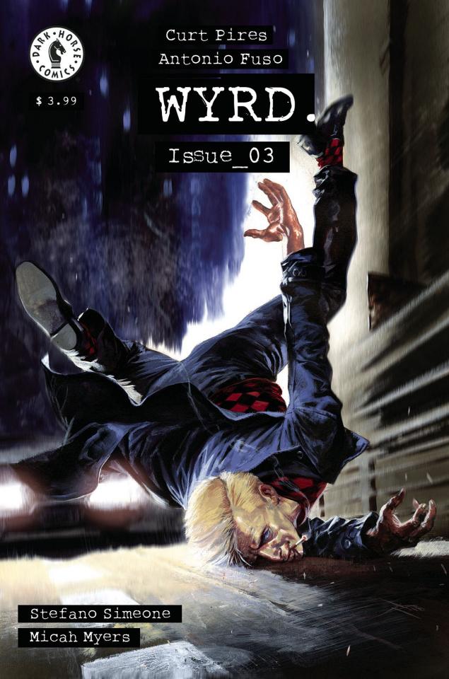 Wyrd #3 (Dell'Otto Cover)