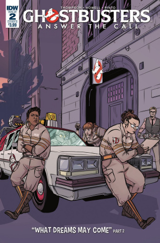 Ghostbusters: Answer the Call #2 (Vieceli Cover)