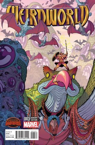 Weirdworld #3 (Moore Cover)