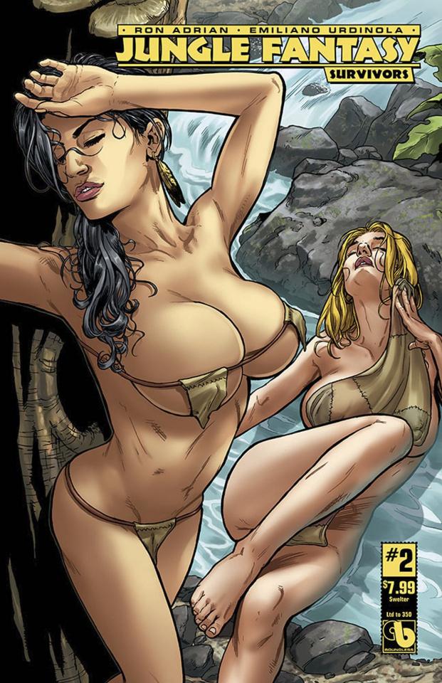 Jungle Fantasy: Survivors #2 (Swelter Cover)