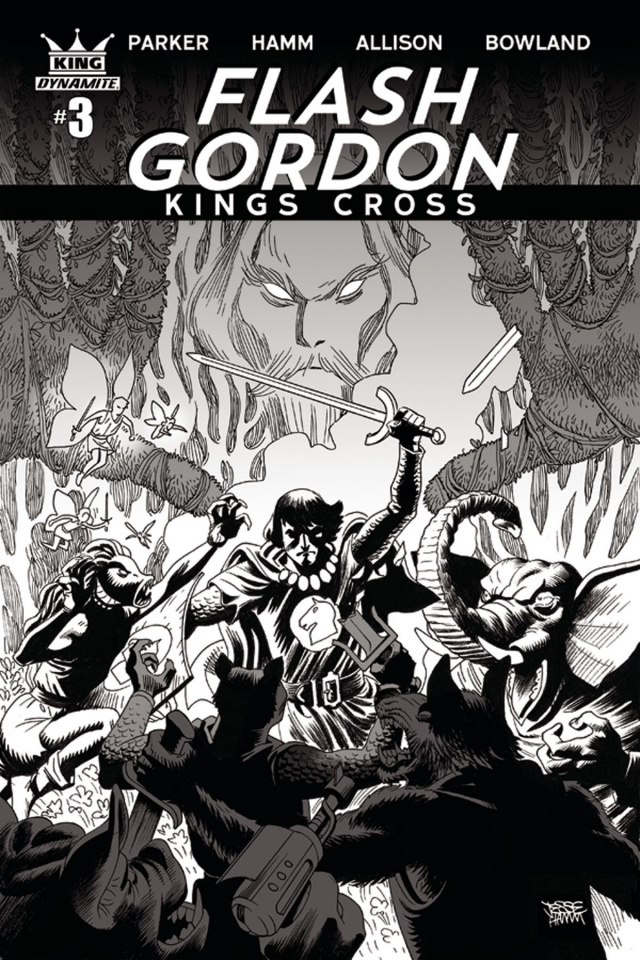 Flash Gordon: Kings Cross #3 (10 Copy Hamm Cover)