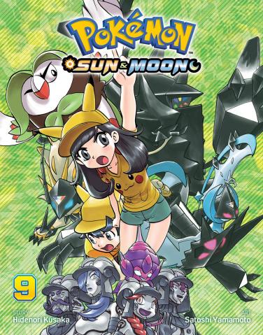 Pokémon: Sun & Moon Vol. 9