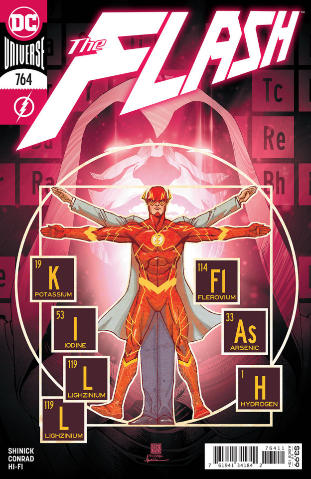 The Flash #764 (Bernard Chang Cover)