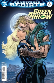 Green Arrow #8 (Variant Cover)