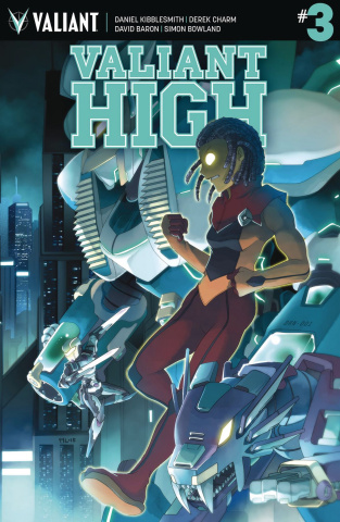 Valiant High #3 (10 Copy Lee Cover)