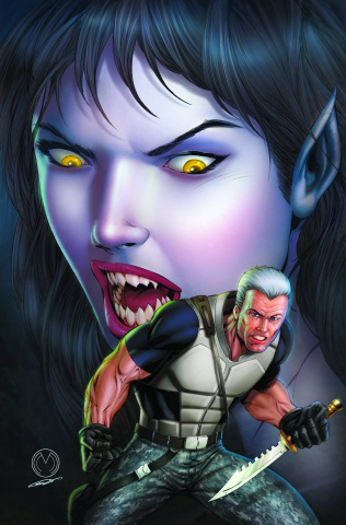 Grimm Fairy Tales: Werewolves - The Hunger #3 (Mychaels Cover)