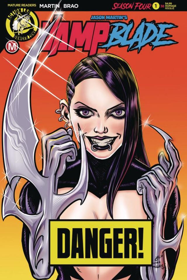Vampblade, Season Four #1 (Garcia Risque Cover)