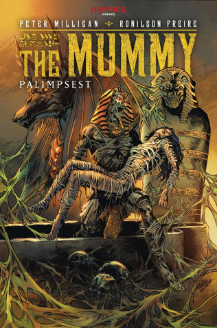 The Mummy #5 (Friere Cover)