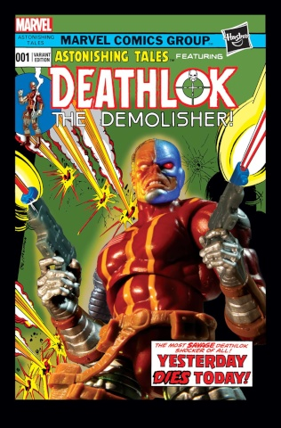 Deathlok #1 (Hasbro Cover)