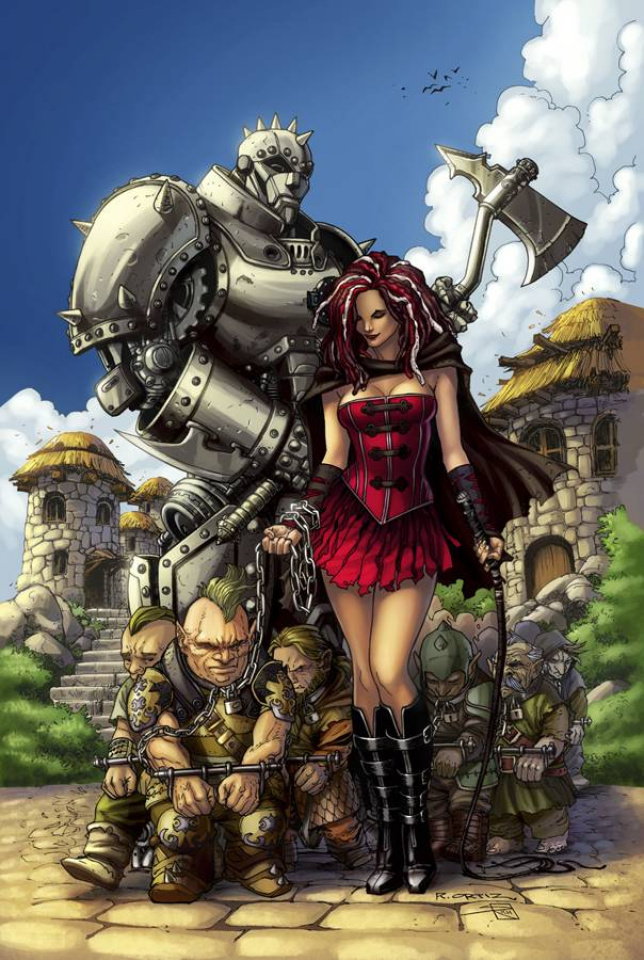 Grimm Fairy Tales: The Warlord of Oz #2 (Ortiz Cover)
