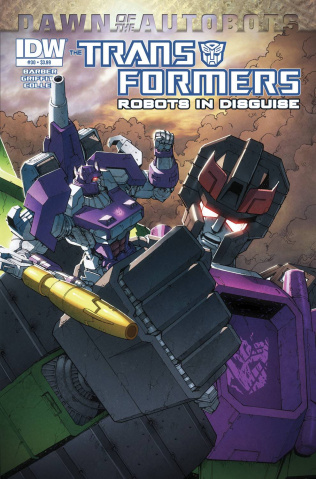 The Transformers: Robots in Disguise #30 (Dawn of the Autobots)