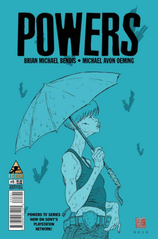 Powers #5 (Mack Cover)