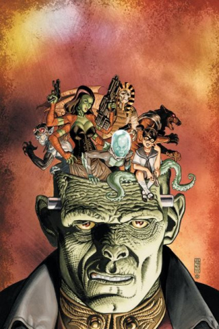 Frankenstein: Agent of S.H.A.D.E. #2