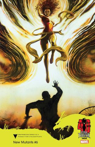 New Mutants #6 (Granov Dark Phoenix 40th Anniversary Cover)