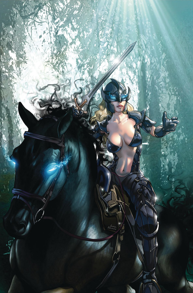 Black Knight #5 (Nunes Cover)
