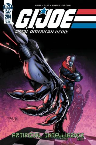 G.I. Joe: A Real American Hero #264 (Diaz Cover)